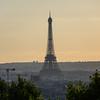 Tour Eiffel<br /> from le Belvédère de Belleville<br /> Parc de Belleville<br /> 20th arr.<br /> September 2018