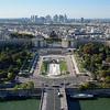 Place due Trocadéro<br /> from le Tour Eiffel<br /> 7th arr.<br /> September 2018