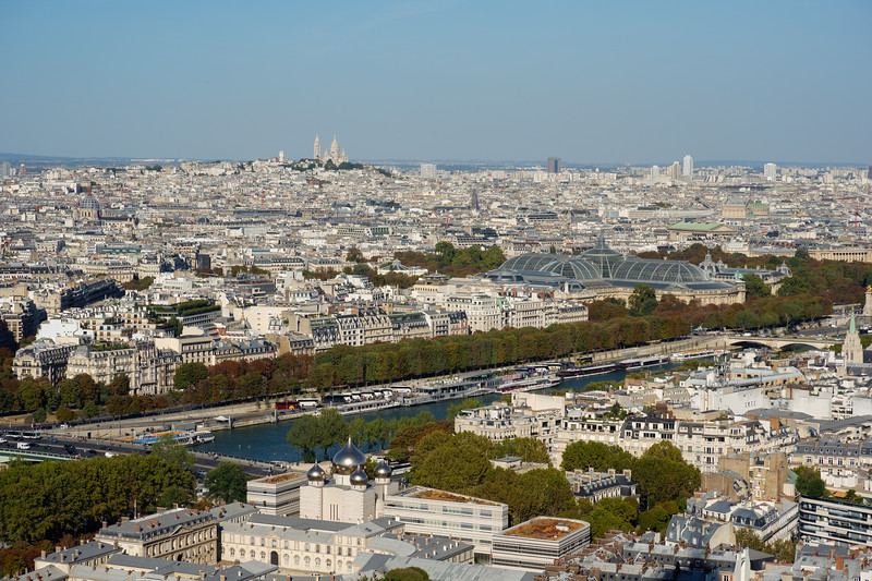 from le Tour Eiffel<br /> 7th arr.<br /> September 2018