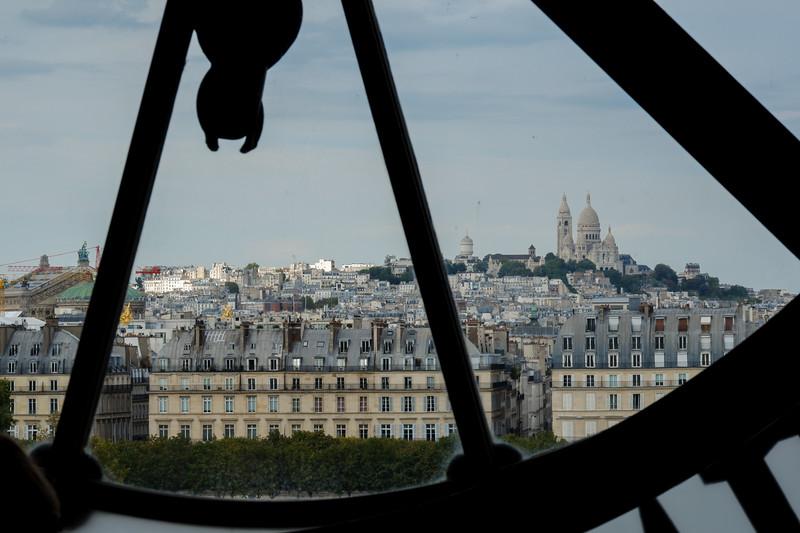 Basilique du Sacré-Cœur de Montmartre<br /> Musée d'Orsay<br /> 7th arr.<br /> September 2018