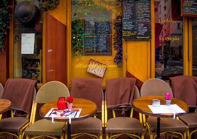 'Tapas & Blankets,' Paris 2016.
