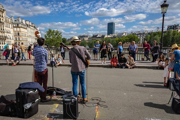 Paris Street Medley June 2018