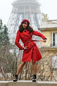 Paris Model and Eiffel Tower