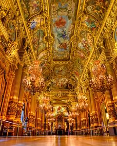 Paris Opera House Grand Foyer
