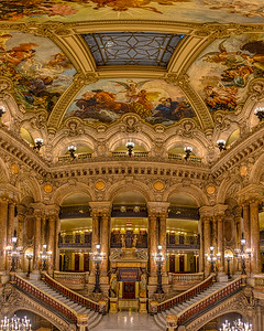 Paris Opera garnier Grand Lobby (HDR)