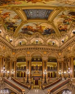 Paris Opera garnier Grand Lobby (HDR)
