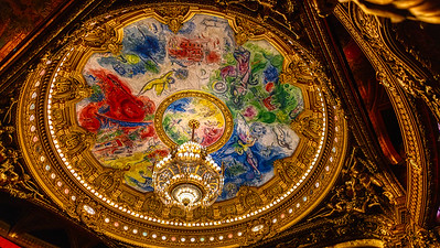 Paris Opera House Chagall Ceiling