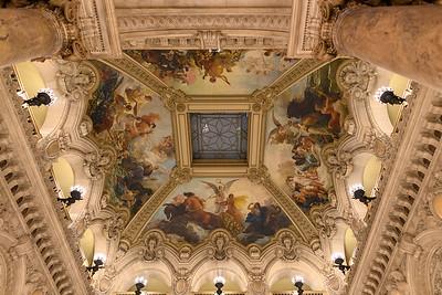 Opera Garnier Lobby Ceiling