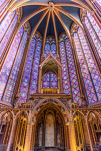 Royal Chapel Sainte-Chappelle Paris