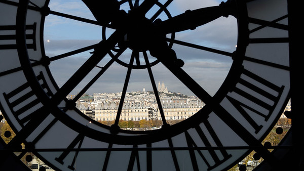 View of Montmartre from Musee D'Orsay