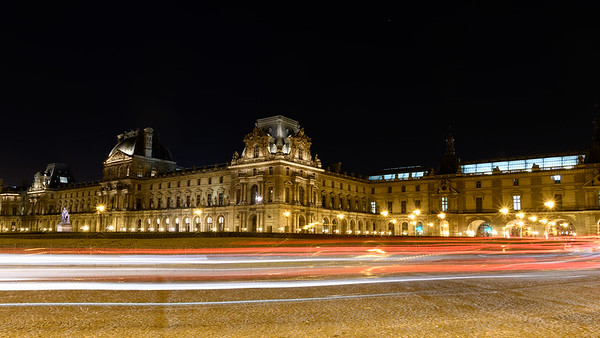 Place de la Comcode at Night - Long Exposure