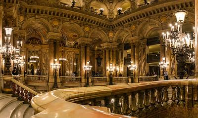 Paris Opera Garnier Balcony