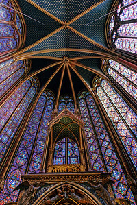Stained Glass Sainte-Chappelle