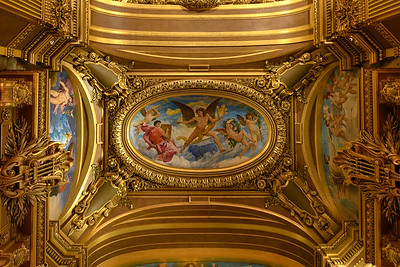 Opera Garnier Ceiling Painting