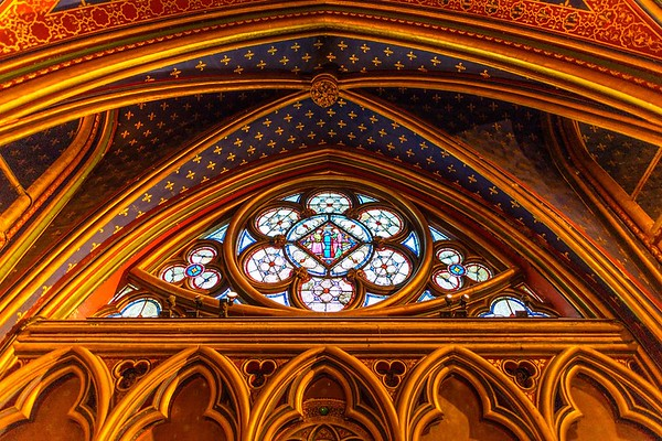 Sainte-Chapelle's Lower Chapel Stained Glass