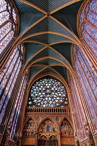 Sainte-Chapelle - King's Chapel Rose Window