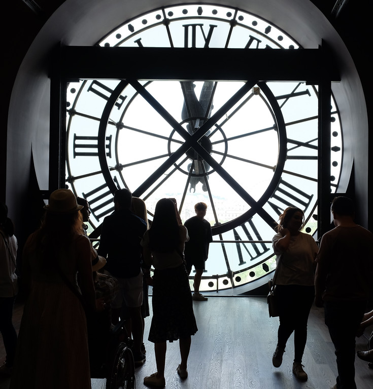 . The Musée d\'Orsay is a museum in Paris, France, on the Left Bank of the Seine. It is housed in the former Gare d\'Orsay, a Beaux-Arts railway station built between 1898 and 1900. Phtoo by Shmuel Thaler