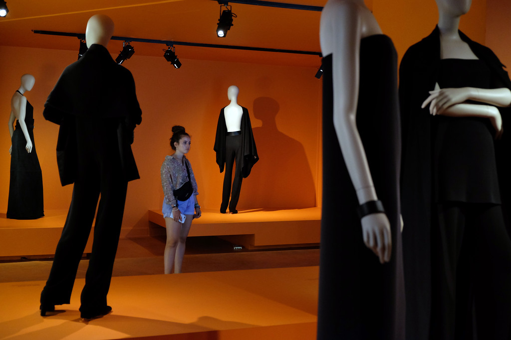 . Exhibit of Martin Margiela\'s years at Hermes on display at Musée des Arts Décoratifs in Paris. Photo by Shmuel Thaler