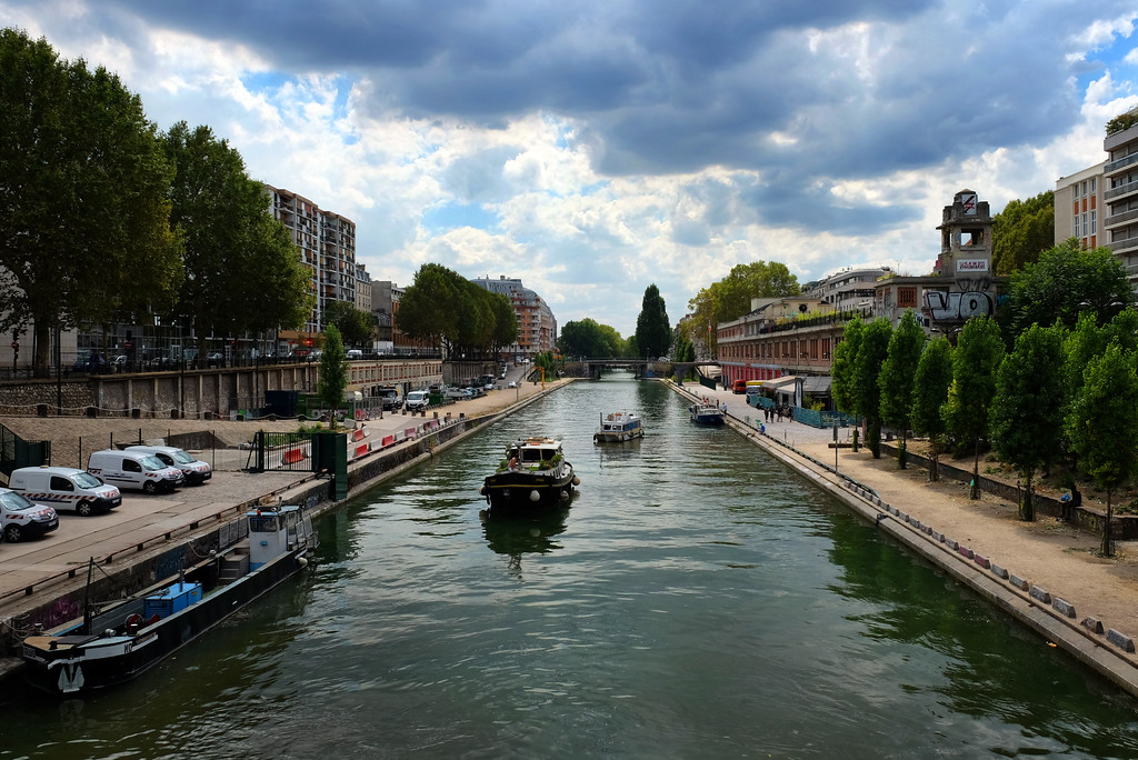 . Canal Saint-Martin in Paris. Photo by Shmuel Thaler