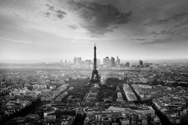 REF005 - Paris en Noir et Blanc par Antonio GAUDENCIO Auteur Photographe