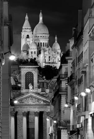 REF014 - Paris en Noir et Blanc par Antonio GAUDENCIO Auteur Photographe