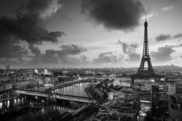 REF009 - Paris en Noir et Blanc par Antonio GAUDENCIO Auteur Photographe