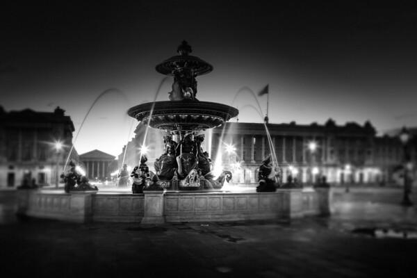 REF001 - Paris en Noir et Blanc par Antonio GAUDENCIO Auteur Photographe