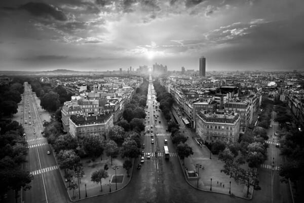 REF012 - Paris en Noir et Blanc par Antonio GAUDENCIO Auteur Photographe
