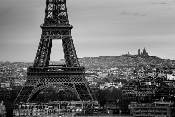 REF008 - Paris en Noir et Blanc par Antonio GAUDENCIO Auteur Photographe