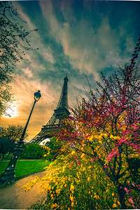 Spring time in Paris