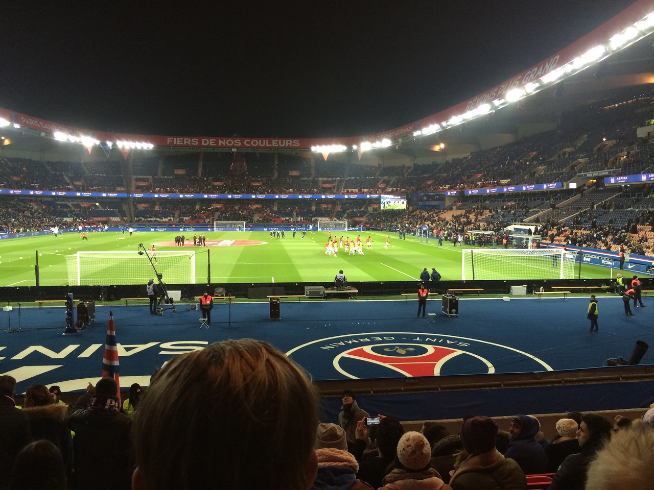 Paris vs. Monaco at Parc des Princes (3/20/16)