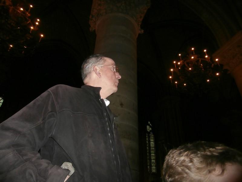 Grandad's new Facebook picture (Notre Dame)