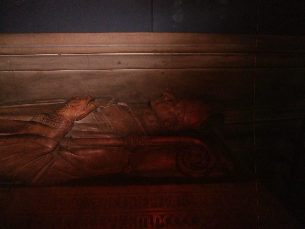 Dead bishop