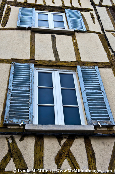 500 year old half-timbered houses