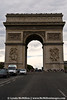 Arc de Triomph, built by Napoleon.