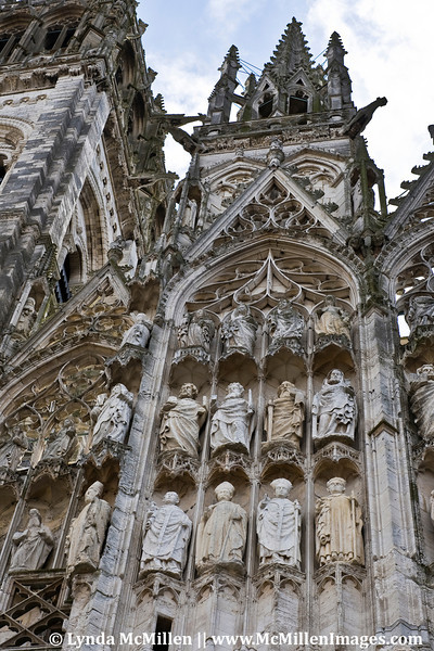 Rouen Cathedral details.