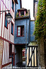 Half-timbered houses date back over 600 years.