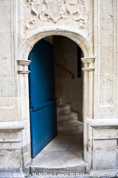 Ancient doorway and stairs