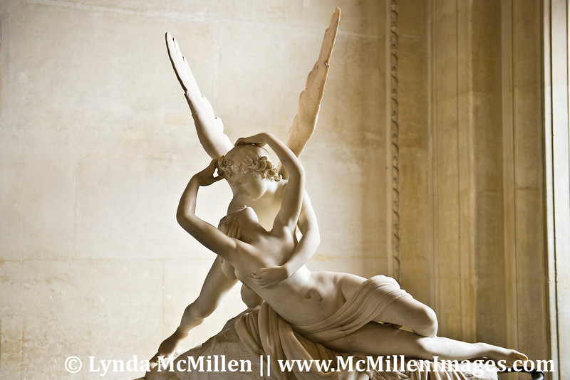"""Psyche Revived by Cupid's Kiss"" by Antonia Canova"