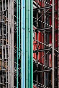 Tubes outside the Centre Georges Pompidou