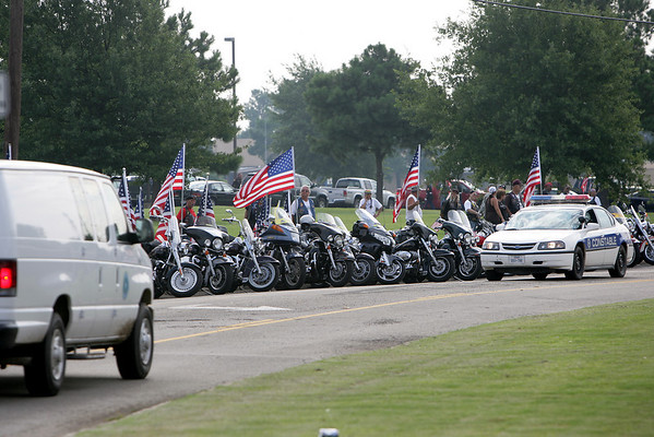 Jay Hoskins Funeral Procession