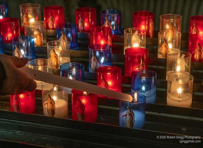 Cathédrale Saint-Jean-Baptiste Candles