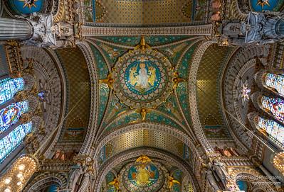 Cathédrale Saint-Jean-Baptiste Cieling