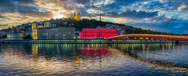 Sunset at Lyon