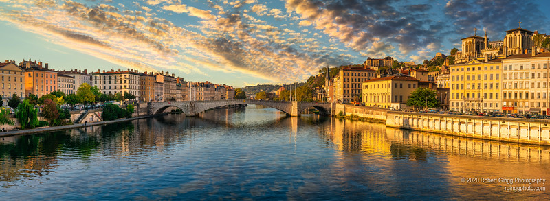 Early morning on the Saône river