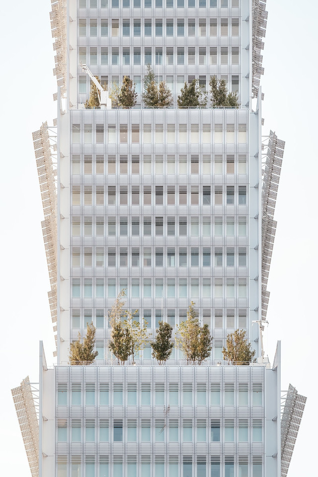 A building in Paris
