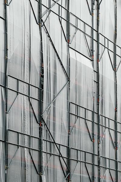 Scaffolding in Paris