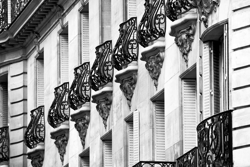Paris Balconies