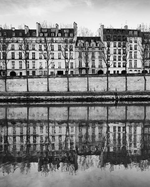 Paris Architecture Reflections