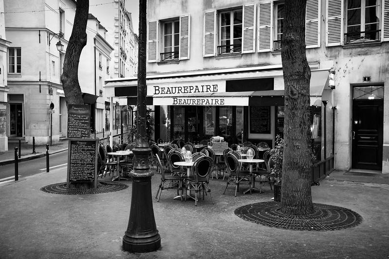 Paris Beaurepaire Cafe